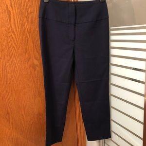 ARITZIA | Navy Babaton cropped trousers